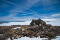 Sierra Nevada Snow Field Royalty Free Stock Photo