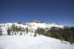Sierra Nevada snow ranges Royalty Free Stock Photo