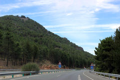 Sierra nevada. Spain andaluzia Royalty Free Stock Image