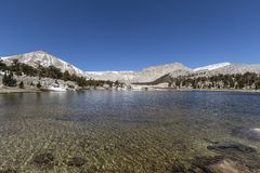 Sierra Nevada Wilderness Lake Stock Photos