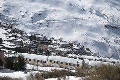 Sierra Nevada. Winter holidays, Sunny day in Sierra Nevada, Granada Stock Photography
