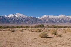 Sierra Nevadas fotografía de archivo