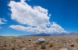 Sierra Nevadas-Berge Lizenzfreies Stockfoto