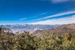 Sierra orientale Nevada View Photographie stock libre de droits