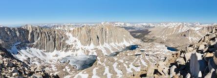 Sierra panorama de Nevada photographie stock libre de droits