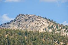 sierra scenica del Nevada delle montagne Fotografia Stock Libera da Diritti