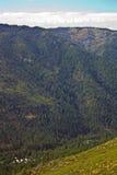 Sierra Stadt von der Sierra Buttes Lizenzfreies Stockbild