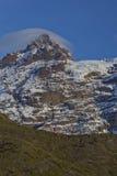 Sierra Velluda della montagna nel parco nazionale di Laguna de Laja, Cile Immagini Stock Libere da Diritti
