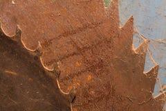 Sierra vieja de la circular Fotos de archivo