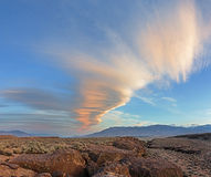 Sierra Wave Cloud Stock Photos