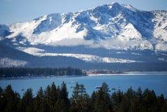Sierras at Lake Tahoe royalty free stock photos