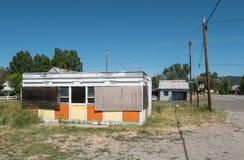 Sierraville, California abandonó el edificio Fotografía de archivo libre de regalías