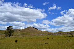Sierre colinas di y Immagine Stock Libera da Diritti