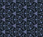 Siervogel en vissentextuur in Escher-stijl Royalty-vrije Stock Afbeelding