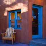 Siesta choices. A shop in Taos NM Stock Images