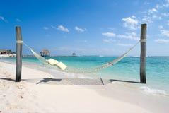 Siesta de la playa Fotos de archivo libres de regalías