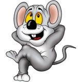 Siesta der Maus06 Lizenzfreies Stockbild