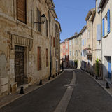 Siesta in village in Provence Stock Photos