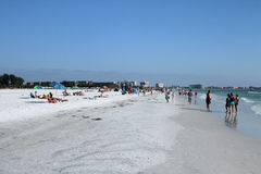 Siestastrand, Florida Arkivbilder