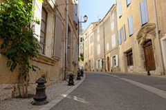 Sieste in village in Provence Royalty Free Stock Image