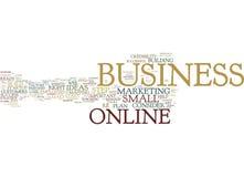 Siete aspettate per un riuscito concetto online della nuvola di parola di affari immagini stock