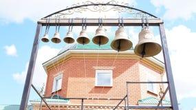 Siete campanas Imagen de archivo