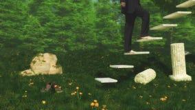 Siete pasos a la ascensión libre illustration