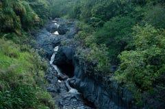 Siete piscinas sagradas en Maui Hawaii Imágenes de archivo libres de regalías
