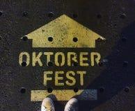 Siete pronto per Oktoberfest? Fotografia Stock