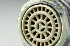 siev calcifié de robinet photos libres de droits