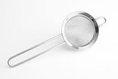 Sieve. On a white bg Stock Image