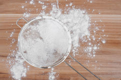 Sieve And Flour Stock Image