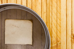 Sieve for sifting flour Royalty Free Stock Images