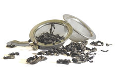 Sieve for tea Stock Images
