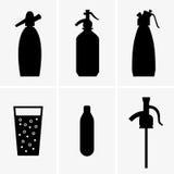 Sifão da soda ilustração royalty free