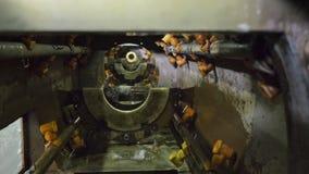 Siffle la ligne de fabrication Fabrication d'usine en plastique de conduites d'eau Processus de faire les tubes en plastique sur clips vidéos