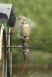 Sifflement de vapeur Images stock