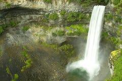 Siffleur BC Canada Brandywine de cascades à écriture ligne par ligne Photographie stock