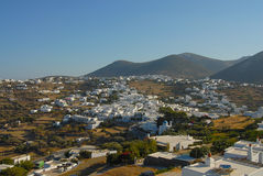Sifnos. Apollonia is an attraction in on its own Royalty Free Stock Photography