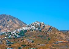 Sifnos, Chora fotografie stock libere da diritti