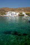 Sifnos. Faros. A picturesque fishing village with stunning beaches Royalty Free Stock Images
