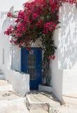 Sifnos Greek island house entrance Stock Images