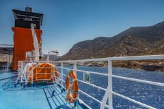 Sifnos Insel, Griechenland stockfoto