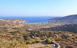 Sifnos island landscape Greece royalty free stock photo
