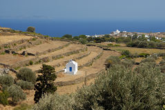 Sifnos-Cyglades-Greece. Little churches with all over the island Royalty Free Stock Images