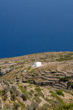 Sifnos. Little churches with all over the island Stock Images