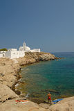 Sifnos-Cyglades-Greece. This is one of the most beautiful and most famous landscapes of Sifnos Stock Photo