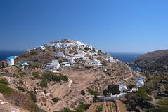 Sifnos-Cyglades-Greece Stock Photo