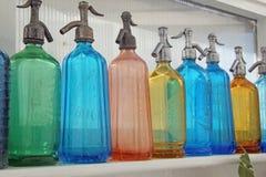 Sifone di vetro colorato Fotografia Stock