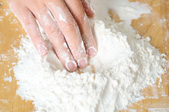 Free Sifted Flour For Cooking Or Baking Stock Photos - 92178623
